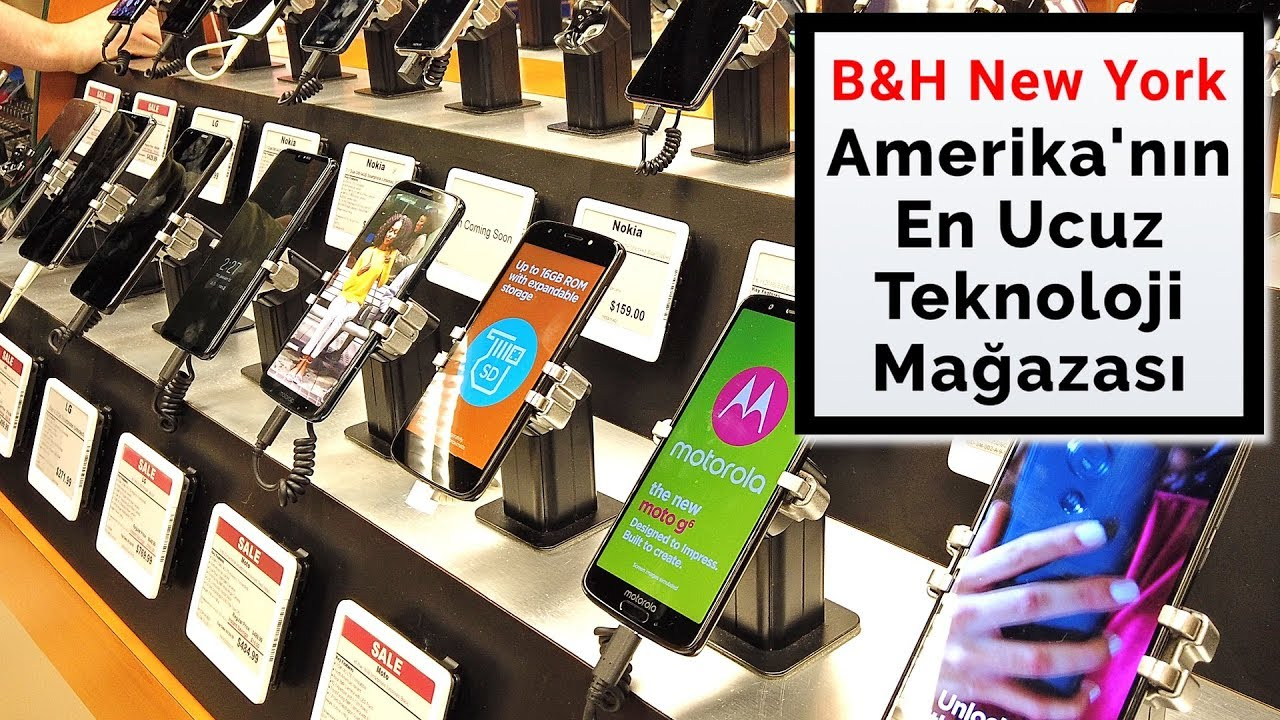 Amerika'nın En Ucuz Teknoloji Mağazası B&H: Cep Telefonu ...