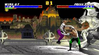 Ultimate Mortal Kombat 3 Jax