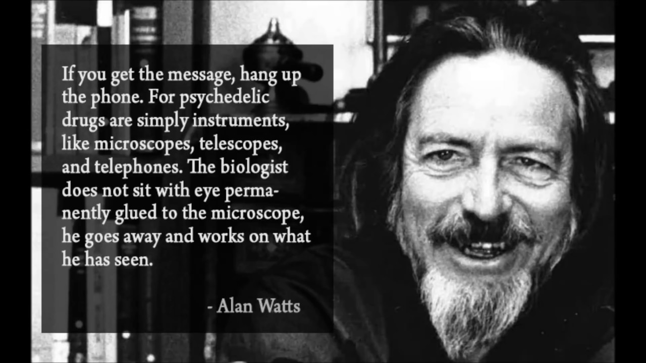 The Best Quotes From Alan Watts Youtube