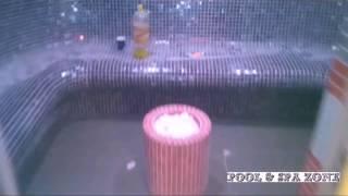 видео Финишная отделка хамама и укладка мозаики в турецкой бане