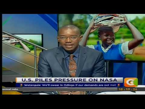 Citizen Extra : US piles pressure on NASA to drop  swearing in plan