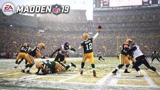 Madden NFL 19 PC Gameplay! - Snow Day - Bears VS Packers & Vikings VS 49ers