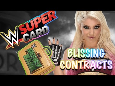 It's those BLISSING Contracts! - MITB Grinding on WWE Supercard