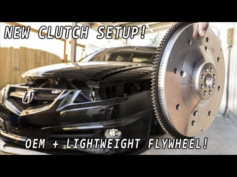New Clutch Setup Unboxing! For My Acura TL Type S
