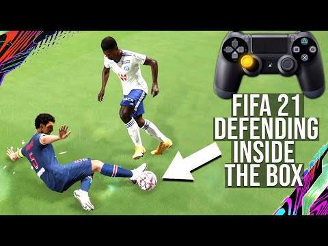 Fifa 21 - how to defend inside the box to stop your opponent from scoring & get more wins (tutorial) mp3