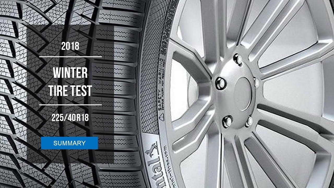 2018 winter tire test results 225 40 r18 youtube. Black Bedroom Furniture Sets. Home Design Ideas