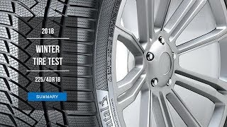 2018 Winter Tire Test Results | 225/40 R18