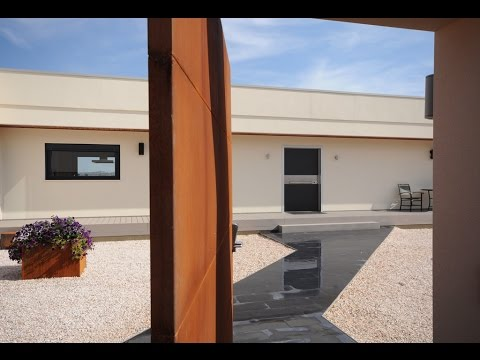 Entradas casas modernas youtube for Puertas de entrada de casas modernas