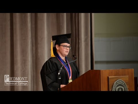 2018 Piedmont Technical College Graduate HeatherBenshoof