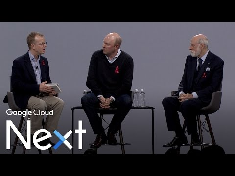 Fireside Chat with Vint Cerf & Marc Andreessen (Google Cloud Next '17)