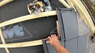 Jak układać dachówke. Pokrycie dachu.  Zrób to sam.