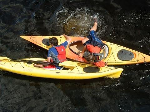 Re Entering A Sit Inside Kayak