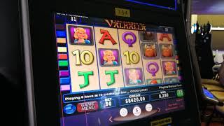 High Limit $90 Valhalla slot machine max bet bonus round