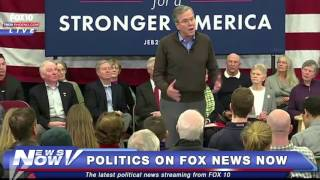FNN: Jeb Bush Holds Town Hall in New Hampshire Day After Iowa Caucus - PART 1