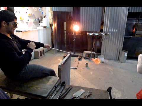 Hot Shop Class At The Asheville Glass Center, Asheville, NC