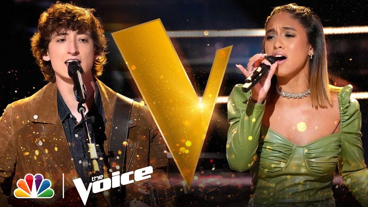 "Download Berritt Haynes vs. Kaitlyn Velez | Coldplay's ""Yellow"" | The Voice Battles 2021"