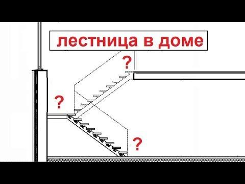 Лестница на второй этаж в кирпичном доме. Советы.