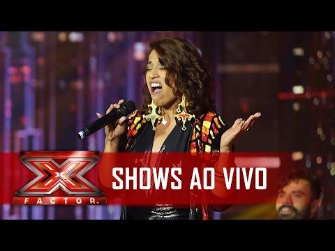 Heloá divou com Beyoncé   X Factor BR
