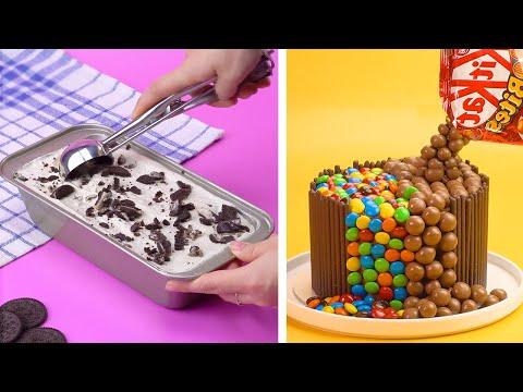 fancy-chocolate-cake-tutorials- -so-yummy-cake-decorating-ideas- -easy-chocolate-cake