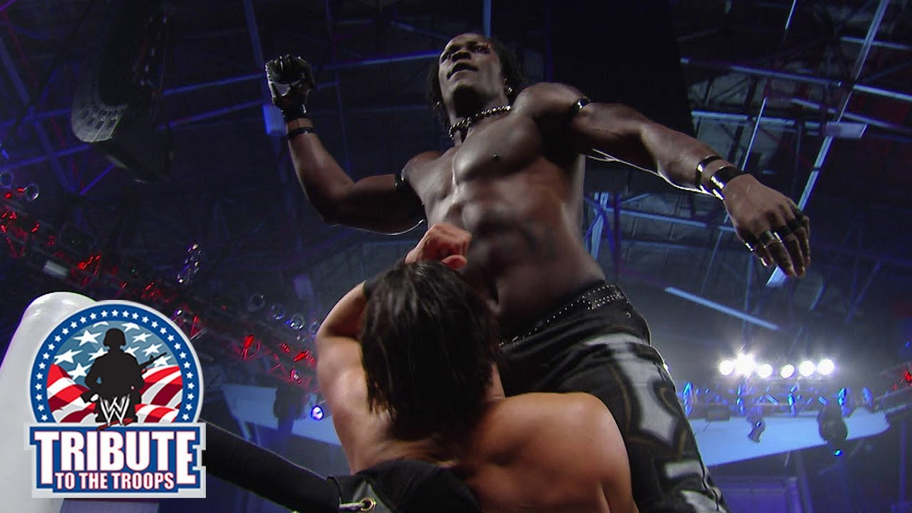 R-Truth vs. Fandango: Tribute to the Troops 2013