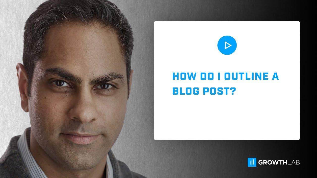 blog outline