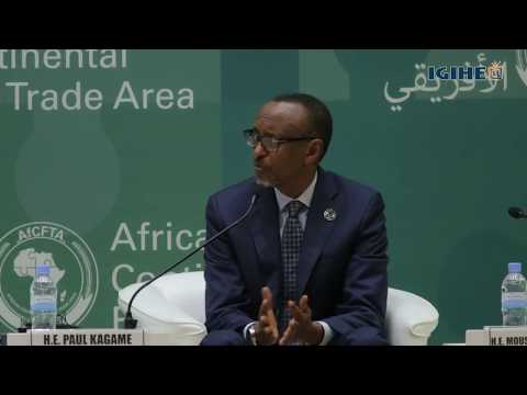 President Kagame projects Africa's rise and evolution in the History of Global Integration