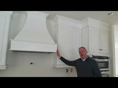[Modular Home Minute®]  Custom Kitchen Cabinets & Range Hood- Stamford, Connecticut