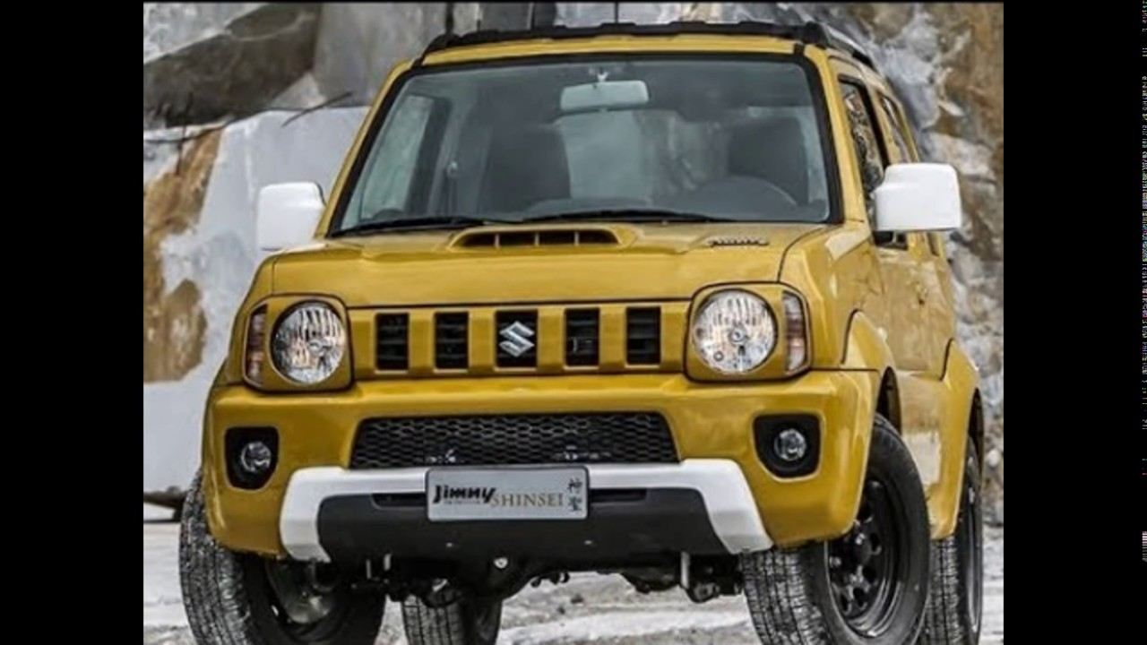 2018 suzuki sierra. wonderful sierra the 2018 suzuki allnew jimny shinsei to suzuki sierra