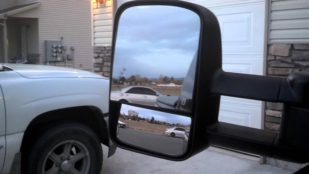 Chevy Silverado Tow Mirrors Install Part 2 Youtube