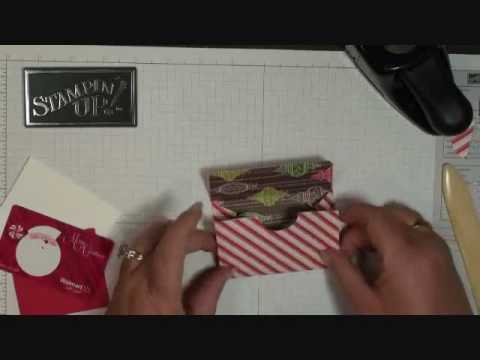 Gift card holder envelope with Dawn