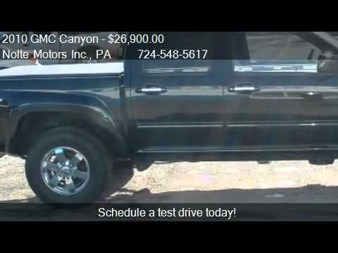 2010 gmc canyon slt crew cab 4wd for sale in kittanning p youtube. Black Bedroom Furniture Sets. Home Design Ideas