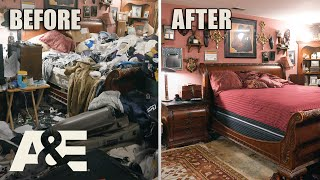 Hoarders: 10 TONS of Trash Removed from Man's Dream Home | A&E