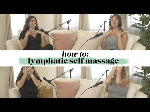 FULL TUTORIAL: Self Lymphatic Massage (with Just Your Hands)