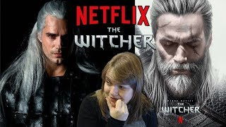 The Witcher NETFLIX Henry Cavill REVEAL