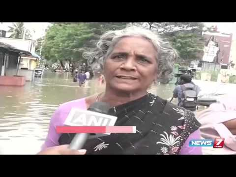 Chennai still underwater; Residents express anger | News7 Tamil