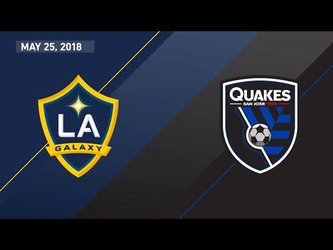 HIGHLIGHTS: LA Galaxy vs. San Jose Earthquakes | May 25, 2018