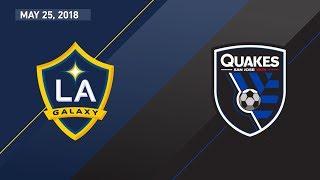 Video Gol Pertandingan LA Galaxy vs San Jose Earthquakes