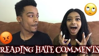 Reading hate comments!!! |lolo & free team|