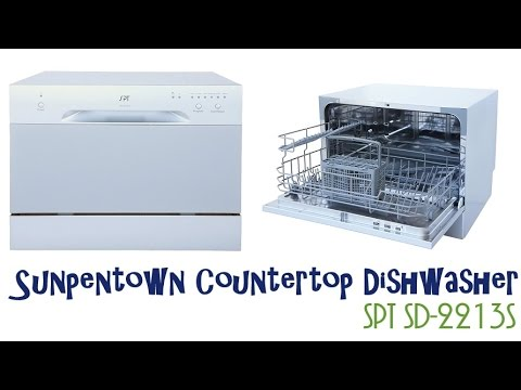 Sunpentown Countertop Dishwasher Spt Sd 2213s Countertop Dishwasher Youtube