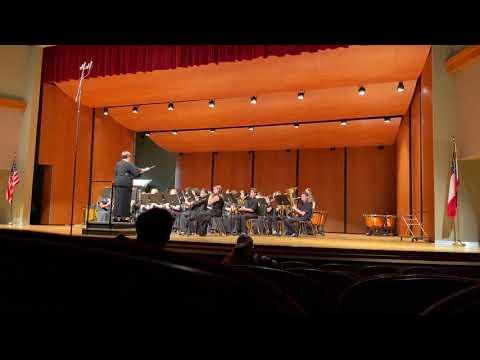Savannah Christian Preparatory School MS Band LGPE 2020- Canticum by James Curnow