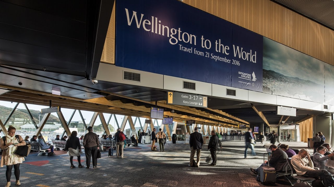 Wellington Airport Opens Domestic Terminal Development