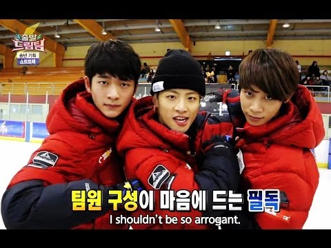 Let's Go! Dream Team II | 출발드림팀 II : Bubble Soccer Part 2 / Short Track Skating (2014.01.12)