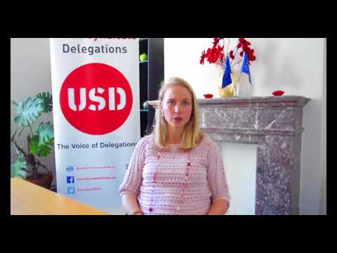 Natalie De Montagny - Legal support for Union Syndicale