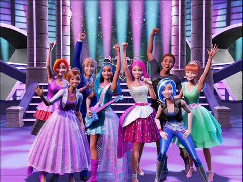 Barbie ~ Etre Ensemble En Chanson Final (French)