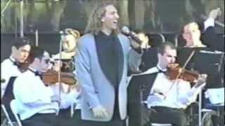 """Filippo Voltaggio on PBS Singing """"It's Impossible"""""""