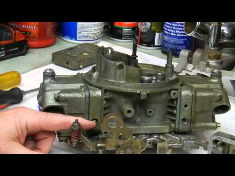Holley Carburetor Tuning Into