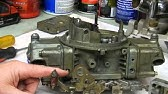 How to Adjust Tune Holley Carb Carburetor Tutorial
