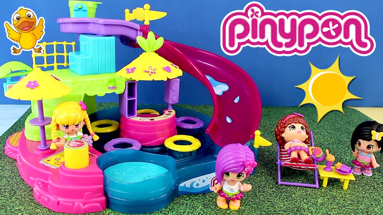 pinypon aquapark juguetes pinypon en espa ol youtube