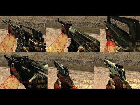 Counter Strike 1.6 Silah Skin Yükleme + Silah Skinleri Oyun İçi [DENENDİ]