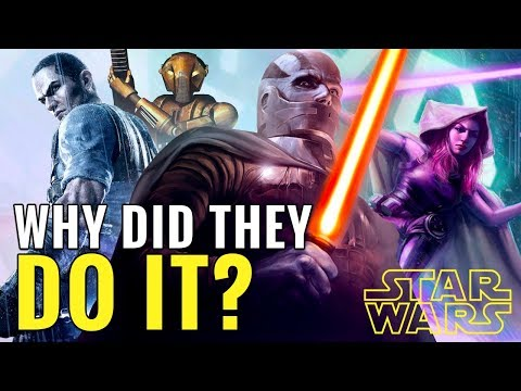 Why Did Disney Erase the Star Wars Expanded Universe? | Star Wars Explained